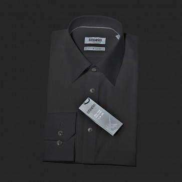 Einhorn Hemd Jamie slim schwarz